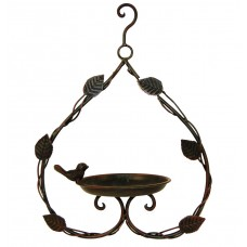 Heart Shaped Hanging Bird Feeder
