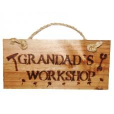 Wooden Plaque - Grandad's Workshop