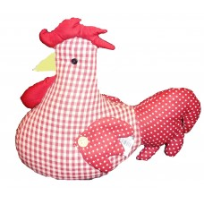 Red Rooster Doorstop