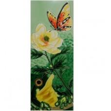 Frog w/ Orange Butterfly Tile