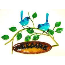Blue Wren Wall Hanger