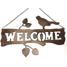 Welcome Sign, Hanging