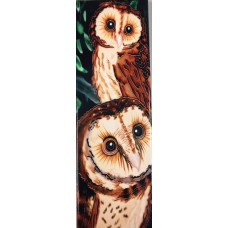 Twin Owls Tile