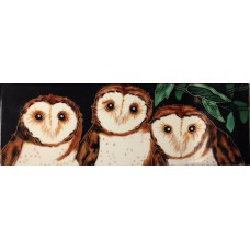 Three Owls Tile (Horizontal)